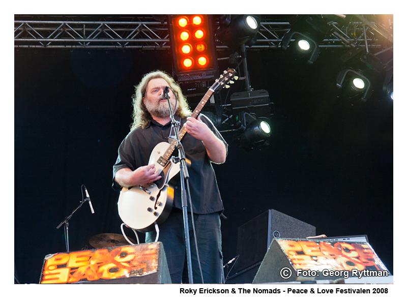 Roky Erickson & The Nomads - Peace & Love Festivalen 2008