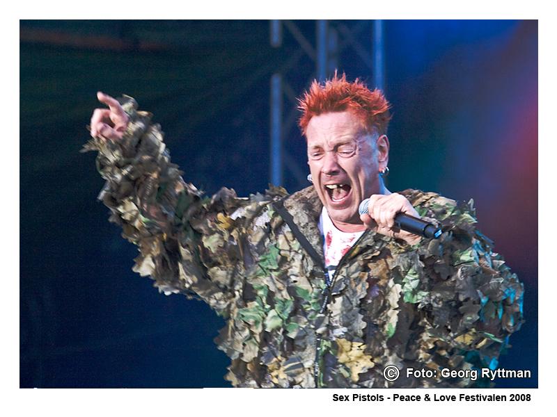 Sex Pistols - Peace & Love Festivalen 2008