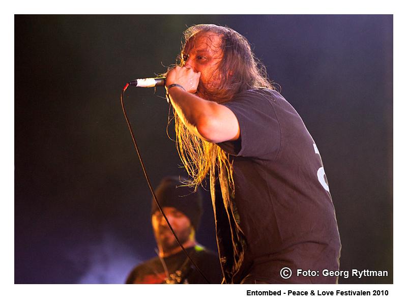 Entombed - Peace & Love Festivalen 2010