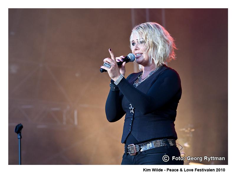 Kim Wilde - Peace & Love Festivalen 2010