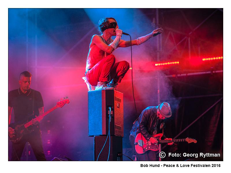 Bob Hund - Peace & Love Festivalen 2016