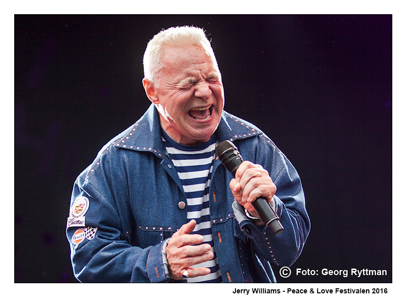 Jerry Williams - Peace & Love Festivalen 2016