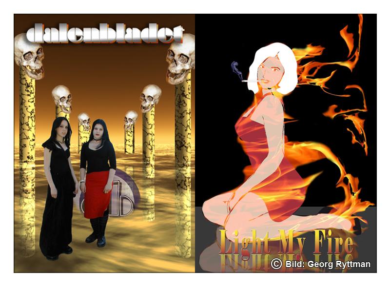 Omslag Dalenbladet/Light My Fire