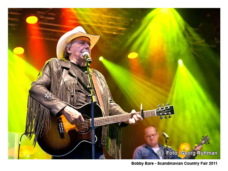 Bobby Bare - Scandinavian Country Fair 2011