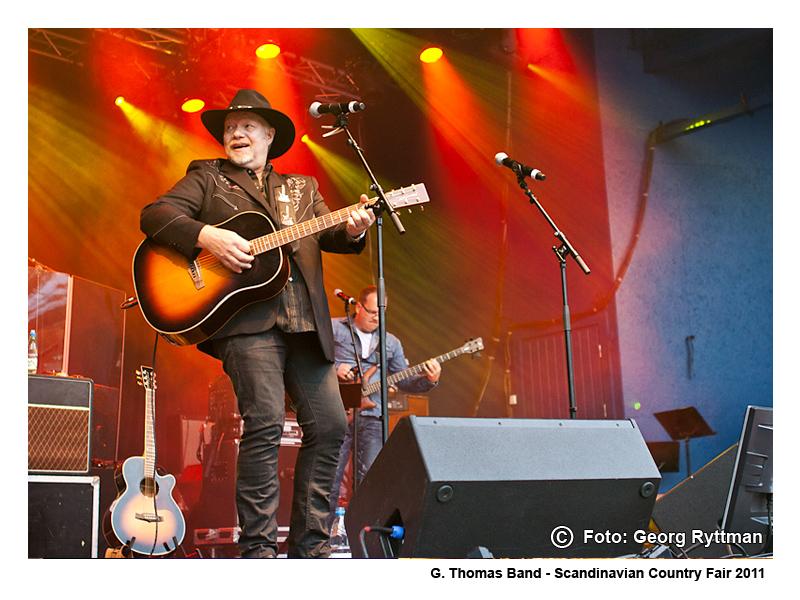 G. Thomas Band - Scandinavian Country Fair 2011