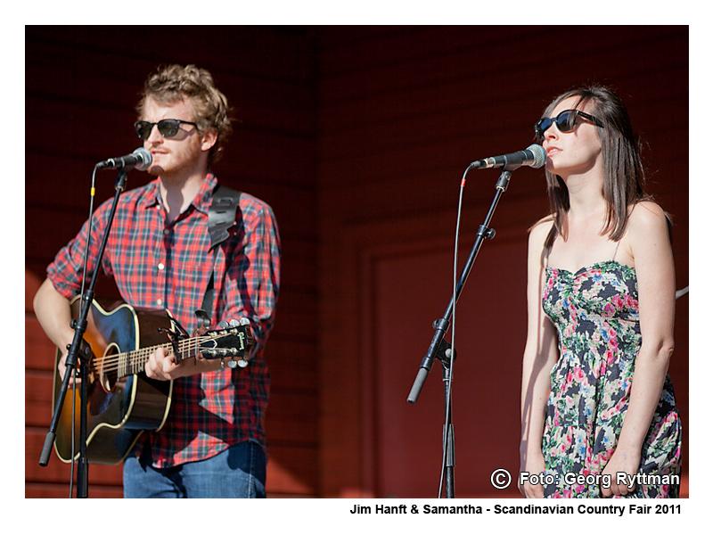 Jim Hanft & Samantha - Scandinavian Country Fair 2011