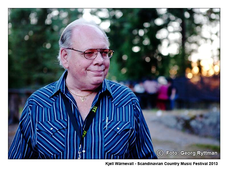 Kjell Wärnevall - Scandinavian Country Music Festival 2013