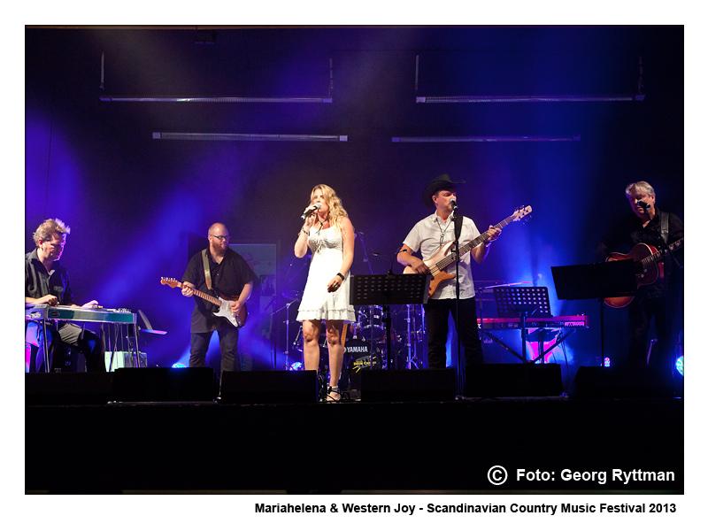 Mariahelena & Western Joy - Scandinavian Country Music Festival 2013