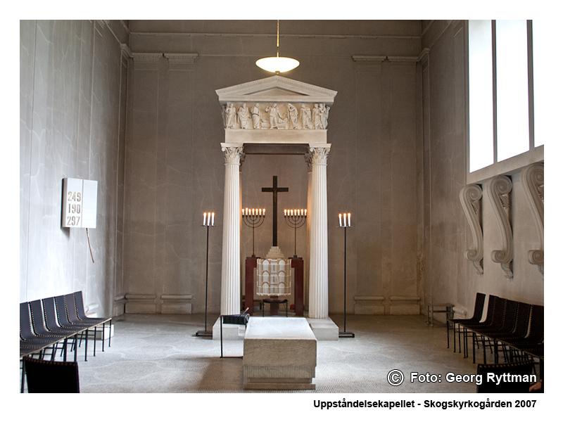 Uppståndelsekapellet - Skogskyrkogården