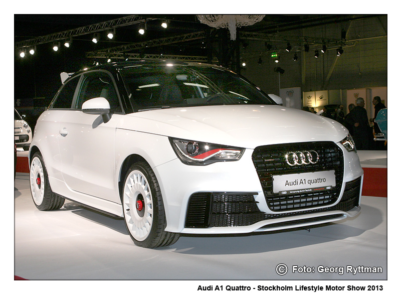 Audi A1 Quattro - Stockholm Lifestyle Motor Show