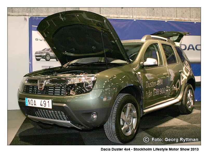 Dacia Duster - Stockholm Lifestyle Motor Show