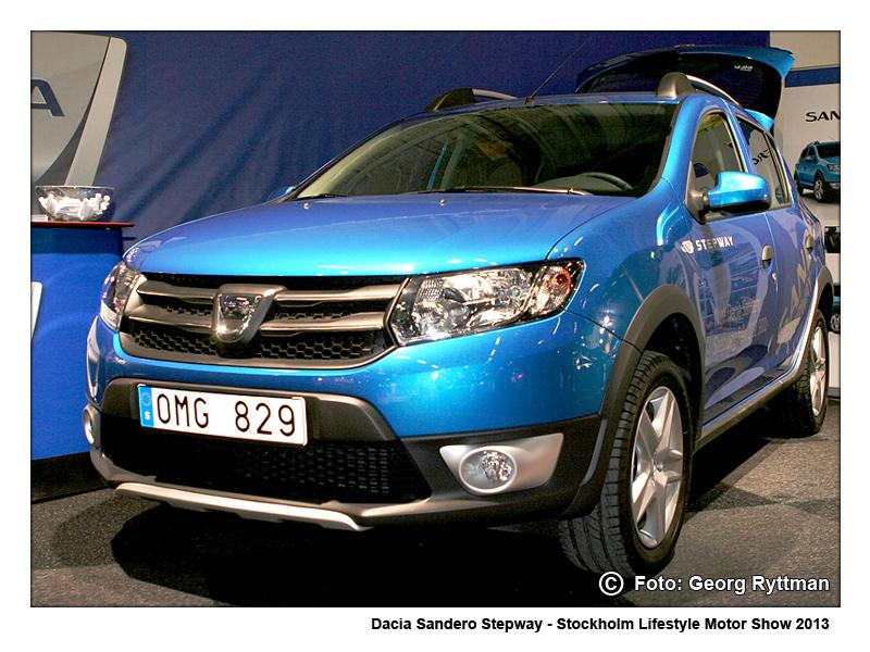 Dacia Sandero Stepway - Stockholm Lifestyle Motor Show