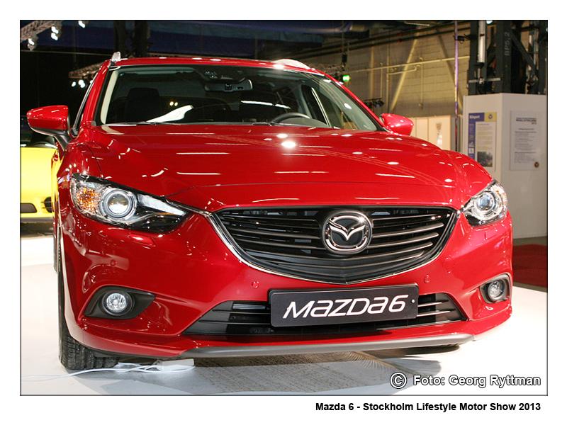Mazda 6 - Stockholm Lifestyle Motor Show