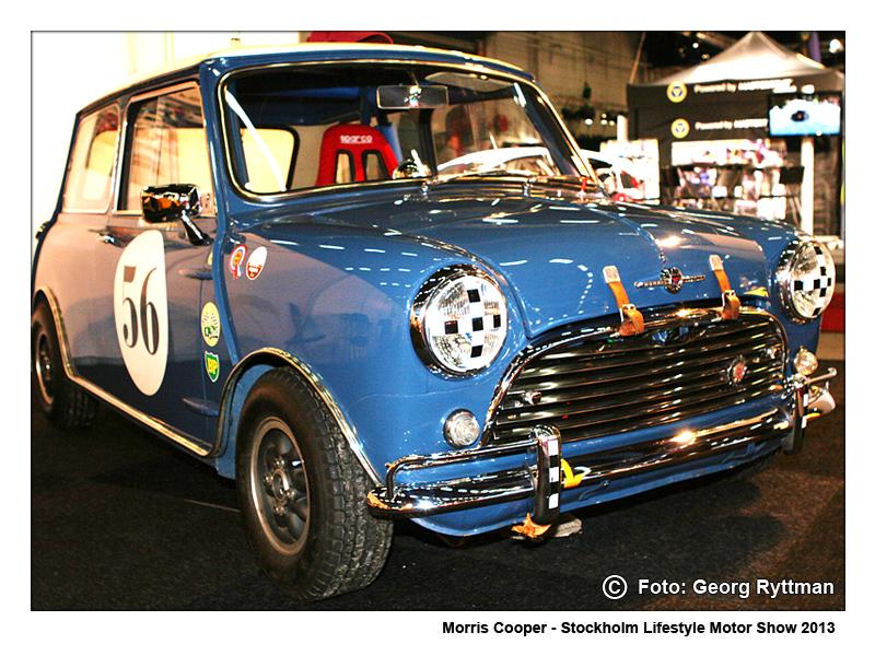 Morris Cooper - Stockholm Lifestyle Motor Show