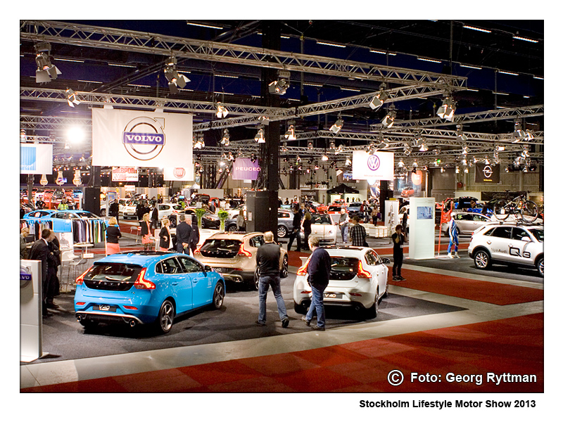 Stockholm Lifestyle Motor Show - mässhallen