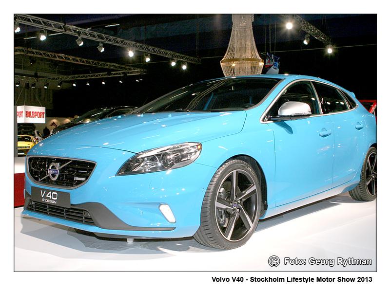 Volvo V40 - Stockholm Lifestyle Motor Show