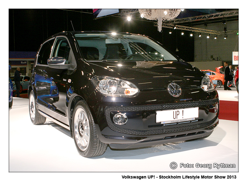 Volkswagen UP! - Stockholm Lifestyle Motor Show