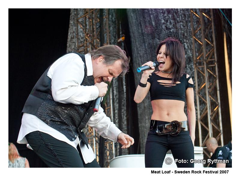 Meat Loaf - Sweden Rock Festival 2007