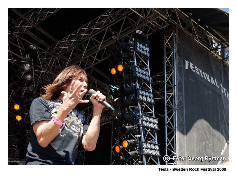 Tesla - Sweden Rock Festival 2008