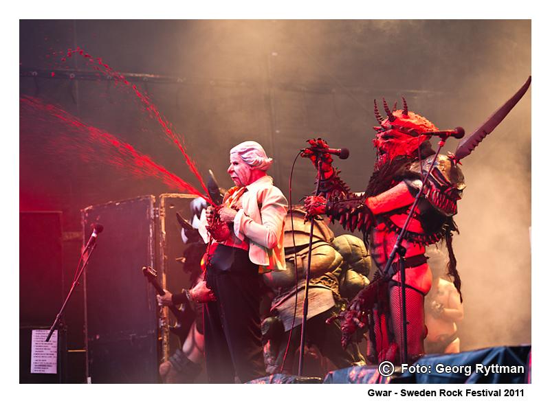 Gwar - Sweden Rock Festival 2011