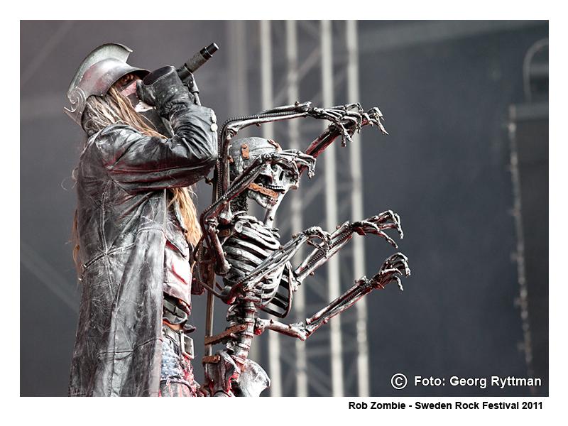 Rob Zombie - Sweden Rock Festival 2011