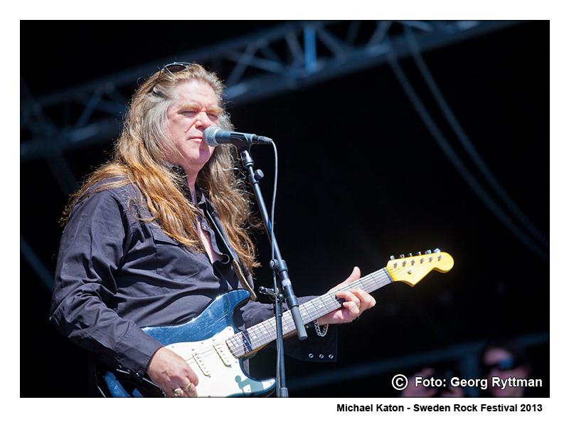 Michael Katon - Sweden Rock Festival 2013