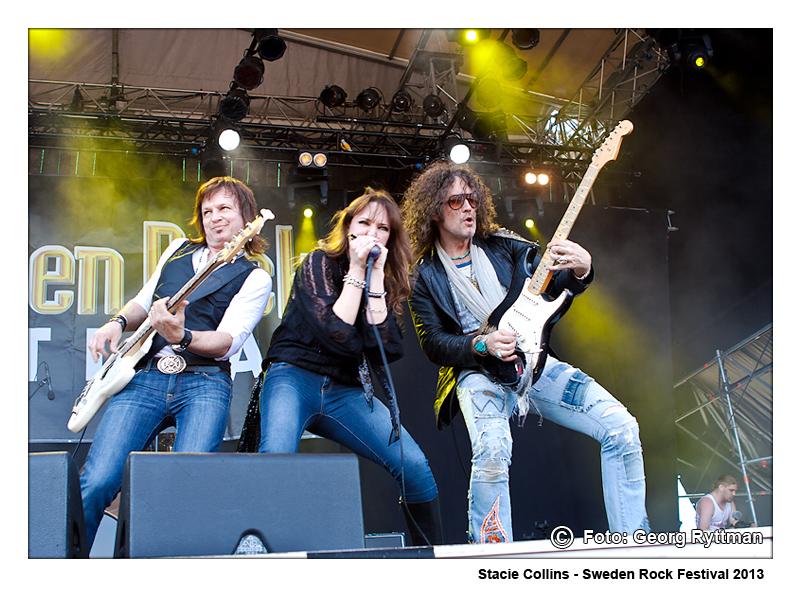 Stacie Collins - Sweden Rock Festival 2013