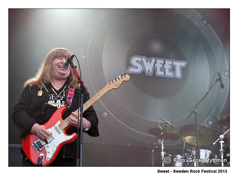 Sweet - Sweden Rock Festival 2013