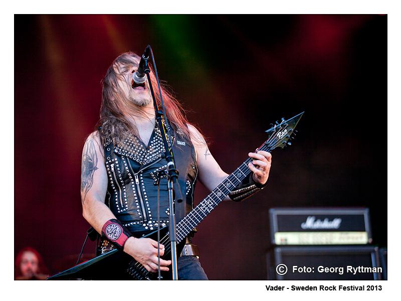 Vader - Sweden Rock Festival 2013