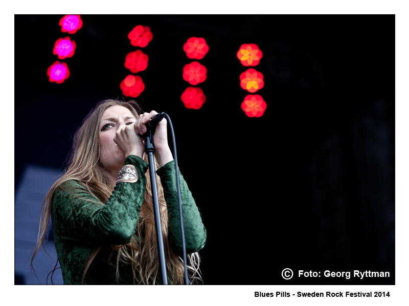 Blues Pills - Sweden Rock Festival 2014