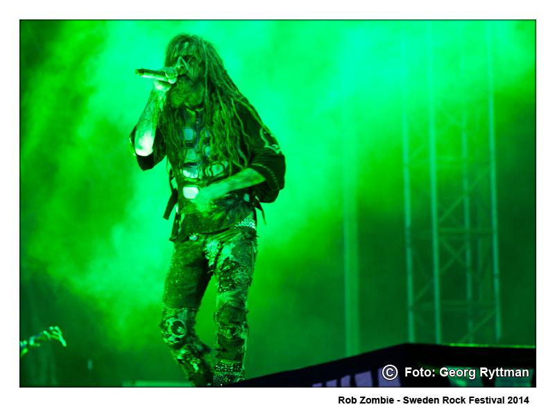 Rob Zombie - Sweden Rock Festival 2014