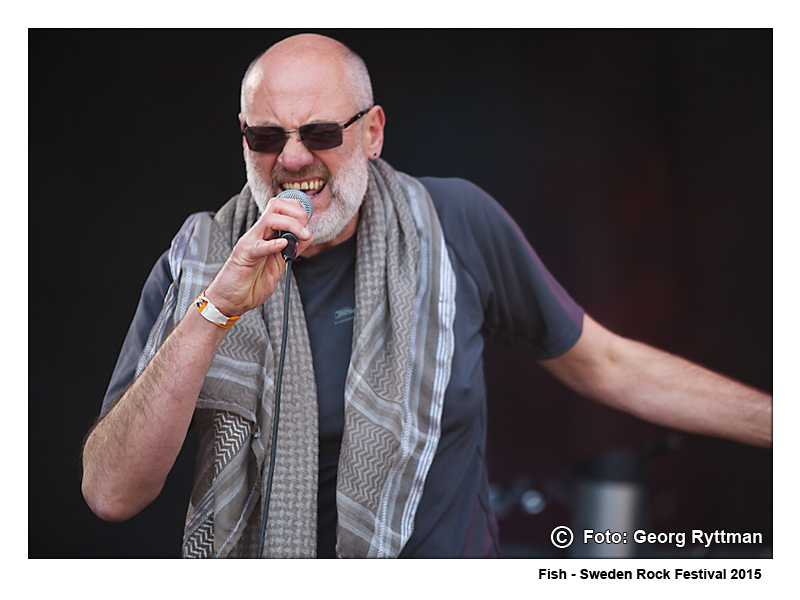 Fish - Sweden Rock Festival 2015