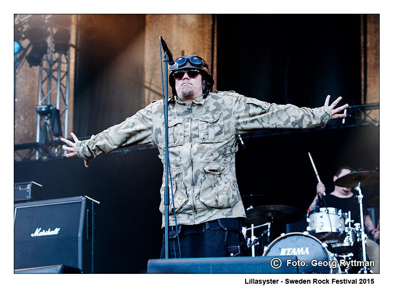 Lillasyster - Sweden Rock Festival 2015