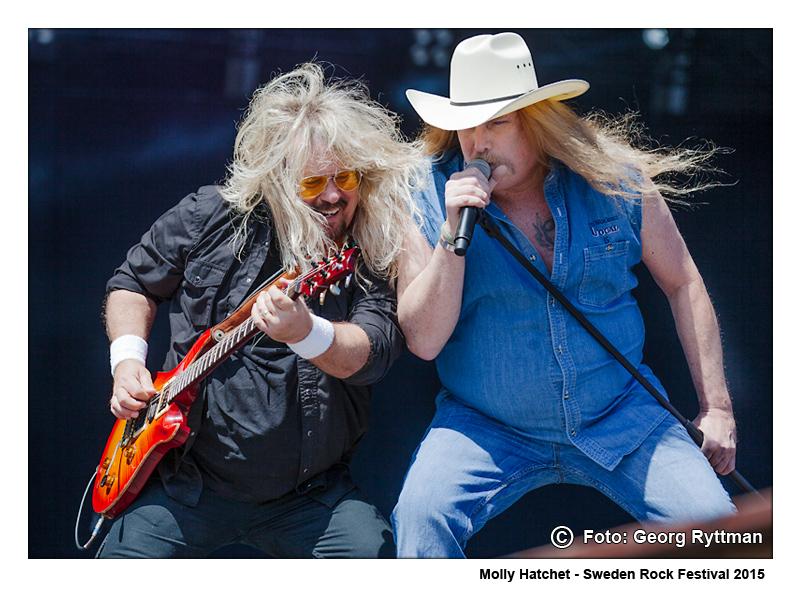 Molly Hatchet - Sweden Rock Festival 2015