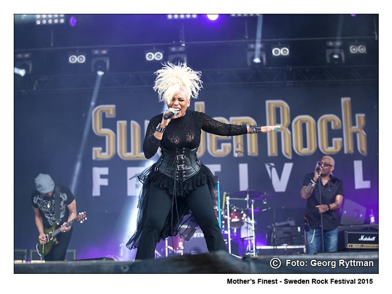 Mothers Finest - Sweden Rock Festival 2015