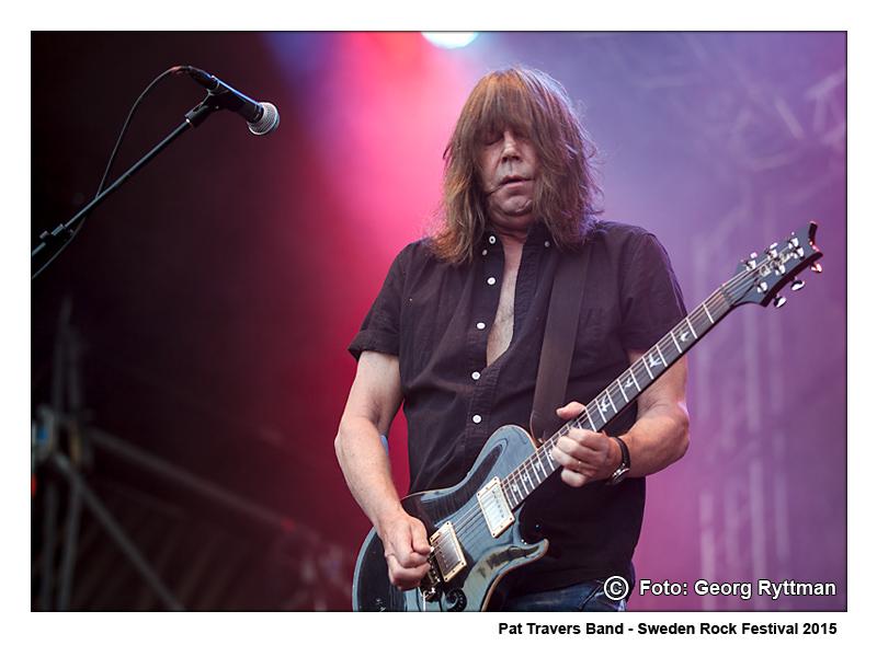 Pat Travers Band - Sweden Rock Festival 2015
