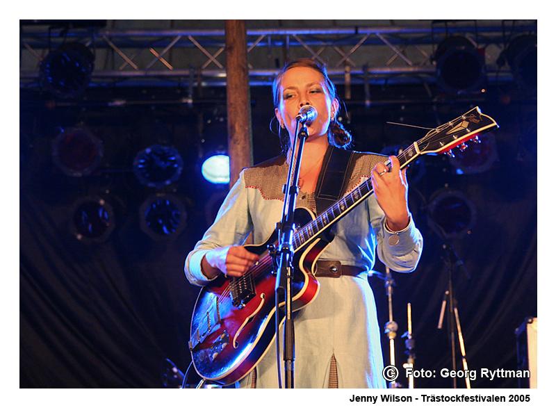 Jenny Wilson - Trästockfestivalen 2005