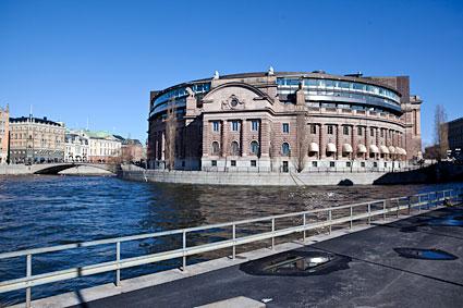 Riksdagshuset 2014-03-21