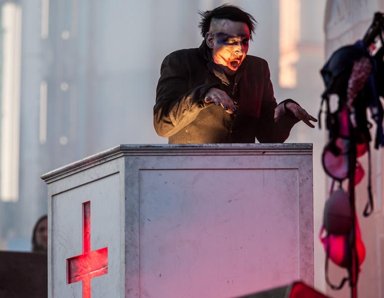 Marilyn Manson - Gröna Lund 2015-06-10