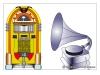 Jukebox/Trattgrammofon