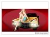 Pin-upa på Cadillac
