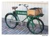 Skansen - Gammal cykel med varukorg