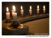 Ljus i Heliga Korsets Kapell - Skogskyrkogården